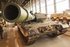 Tank in museum