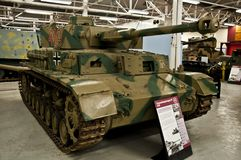 BOVINGTON, ENGLAND -12 March 2013- Established in 1947, the Tank Museum in Bovington, Dorset, displays a collection of armored fig stock images