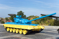 Tank at the museum of the war in Kiev Royalty Free Stock Photography