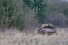 Tank in the nature Stock Image