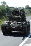 Tank Normandy 2014. Anniversary D-Day stock photos