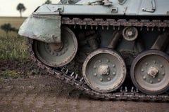 Tank outside composing. An plain tank outside composing stock photos