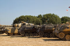 Tank park Stock Images