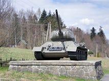 Tank on pedestal 2 Stock Image
