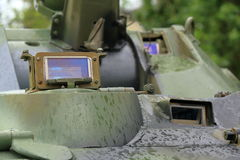 Tank Periscope in BTR-80 APC designed in the USSR Royalty Free Stock Image