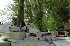 Tank Periscope in BTR-80 APC designed in the USSR Stock Photography