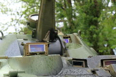 Tank Periscope in BTR-80 APC designed in the USSR Royalty Free Stock Photos