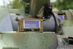 Tank Periscope in BTR-80 APC designed in the USSR Stock Photo