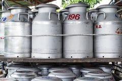 Tank Raw Milk Stock Image