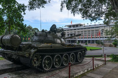 Tank at Reunification Palace Stock Images