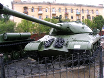 Tank, Russia, Volgograd. Russia the city of Volgograd, tank Stock Photo