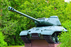 Tank. Russian T-34 tank from the Second World War Royalty Free Stock Photography