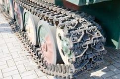 Tank's caterpillar Royalty Free Stock Photos