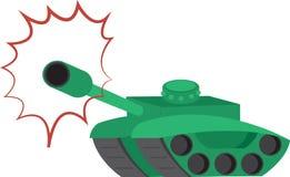 Tank Shooting Royalty Free Stock Photo