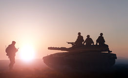 Tank. Stock Photo