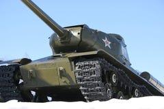 Tank. A Soviet tank during the second world war Stock Photo