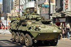 Tank in St Patrick de Parade van de Dag Stock Foto's