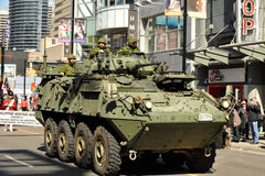 Tank in St Patrick's Day Parade Stock Photos