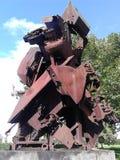 Tank statue Stock Photo