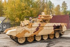 Tank Support Fighting Vehicle  Royalty Free Stock Image