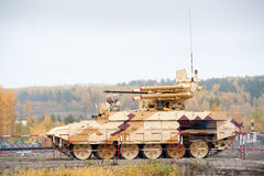 Tank Support Fighting Vehicle Terminator in motion Royalty Free Stock Photo