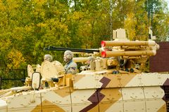 Tank Support Fighting Vehicle Terminator stock photography