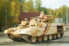 Tank Support Fighting Vehicle Terminator. Russia Stock Image