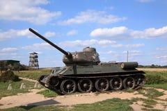 Tank t-34 Royalty-vrije Stock Foto's