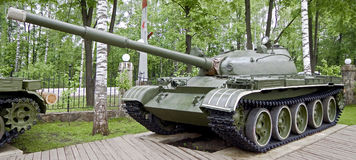 Tank T-62(1) Royalty Free Stock Images
