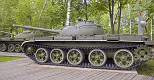 Tank T-62 (2) Royalty Free Stock Images