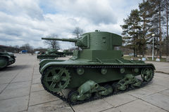 Tank t-26 Stock Foto