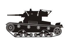 Tank t-26 Royalty-vrije Stock Afbeelding