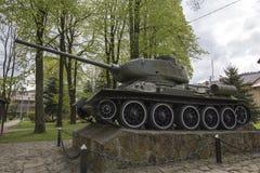 Tank t-34 Stock Foto's