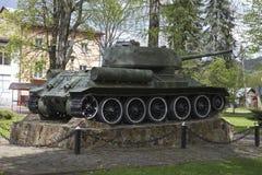 Tank t-34 Royalty-vrije Stock Afbeeldingen