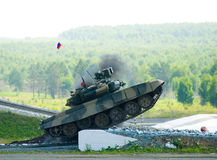 Tank T-80 Royalty Free Stock Images