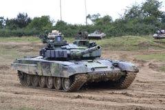 Battle Tank t-72 m4 cz Royalty Free Stock Photos