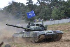 Tank T-72 M4 Royalty Free Stock Photo
