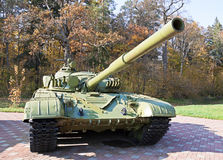 Tank T72 at Museum of Soviet military equipment Royalty Free Stock Image