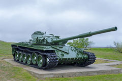 Tank T-72. Is in the museum under the open sky Stock Photos