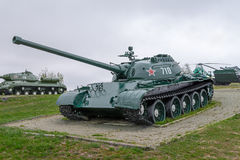 Tank T-54A Stock Images