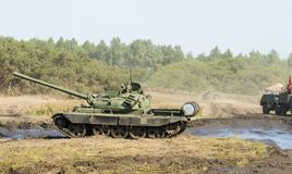 Tank T 54 Stock Photography