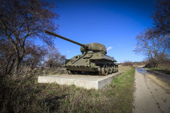 Tank T-34 Royalty Free Stock Photo