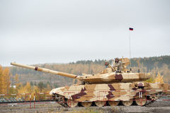 Tank T-90S in motion. Russia Stock Photography