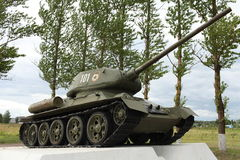 Tank T34 Stock Photography