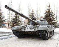 Tank T-72, Victory Park, Kazan, Russia. Tank T-72 in Victory Park in Kazan, Russia, 09.03.2017 Stock Photo