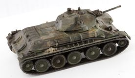 Tank T34. World War II Russian vehicle - Tank T34 (detailed model Stock Images