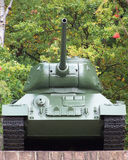 Tank t34. Russian tank t34, memorial place royalty free stock photo