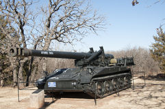 Tank at 45th museum in Oklahoma city Stock Image
