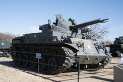 Tank at 45th museum in Oklahoma city Stock Photo