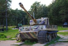 Tank Tiger stock images